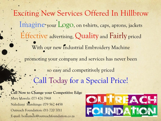 Exciting new service by Outreach Foundation