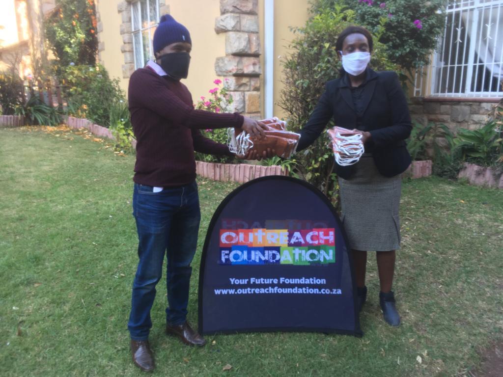 Outreach Foundation donates masks