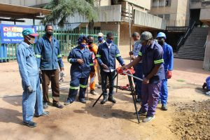 Plumbing course at Outreach Foundation