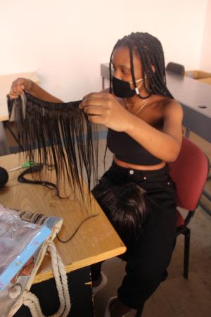 Wig making happening