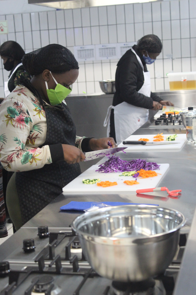 Cooking & Food Preparation course